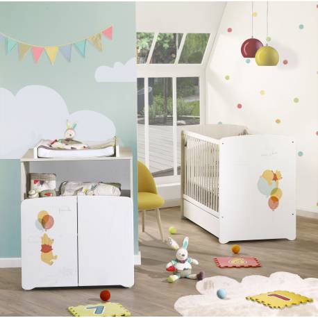 good best commode pour bb winnie floaty day de disney baby price mobilier chambre bb with. Black Bedroom Furniture Sets. Home Design Ideas