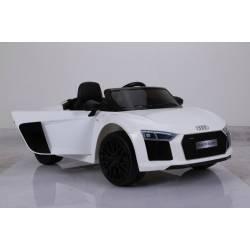 Voiture électrique pour enfant Audi R8 Spyder RS blanche