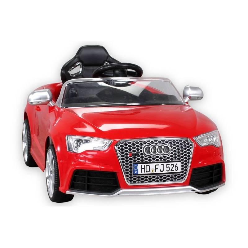 voiture électrique pour enfant audi rs5 rouge