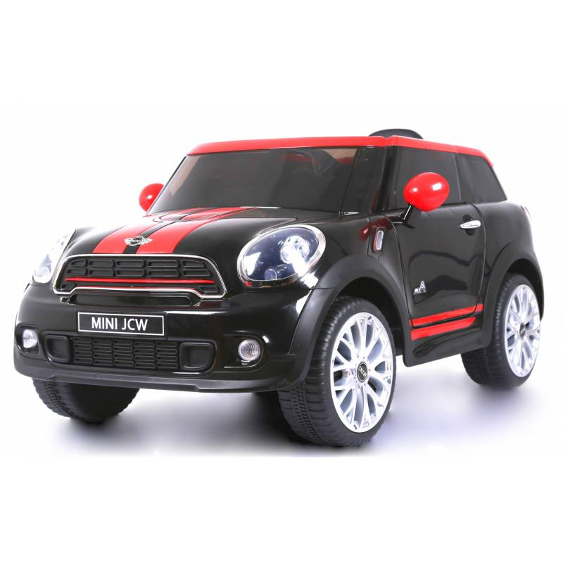 voiture lectrique pour enfant mini paceman jcw 12 v noire. Black Bedroom Furniture Sets. Home Design Ideas