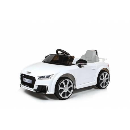 Voiture électrique pour enfant Audi TT RS blanche
