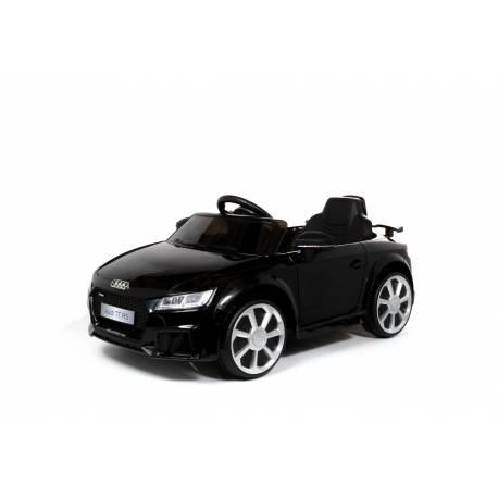 Voiture électrique pour enfant Audi TT RS noire