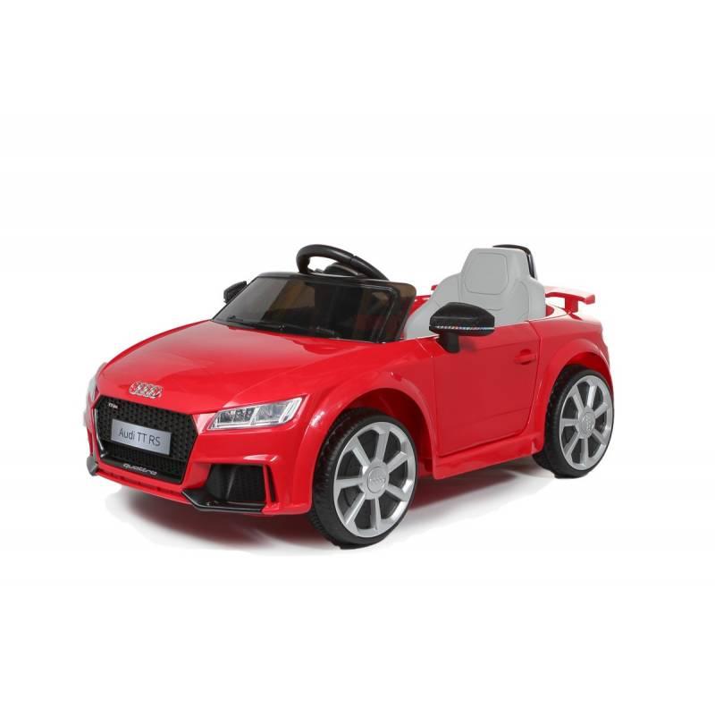 voiture lectrique pour enfant audi tt rs rouge. Black Bedroom Furniture Sets. Home Design Ideas