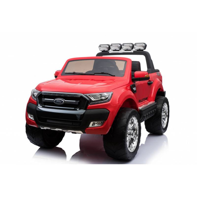 voiture lectrique ford ranger wildtrike rouge deux places bluetooth. Black Bedroom Furniture Sets. Home Design Ideas