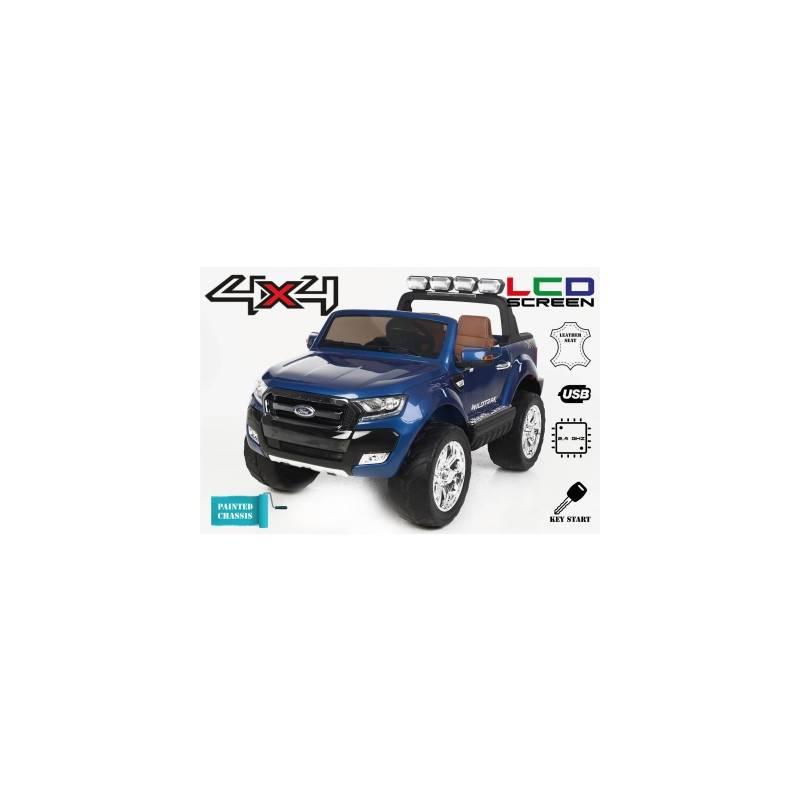 voiture lectrique ford ranger wildtrike peinture bleue. Black Bedroom Furniture Sets. Home Design Ideas