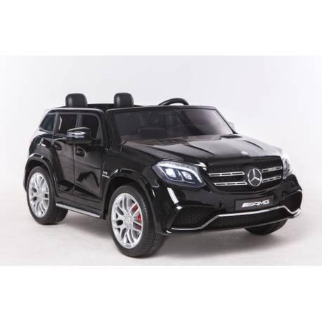 Voiture électrique pour enfant Mercedes Benz GLS 63 deux places noire