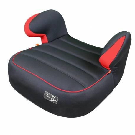 réhausseur siège auto groupe 3 noir et rouge