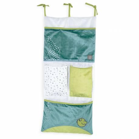 vide poche pour lit bébé collection Accroch'coeur ou Lapidien