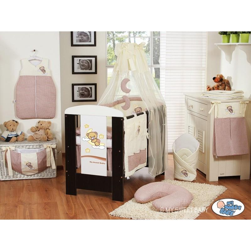lit et parure de lit b b bonne nuit beige mobilier de chambre b b. Black Bedroom Furniture Sets. Home Design Ideas