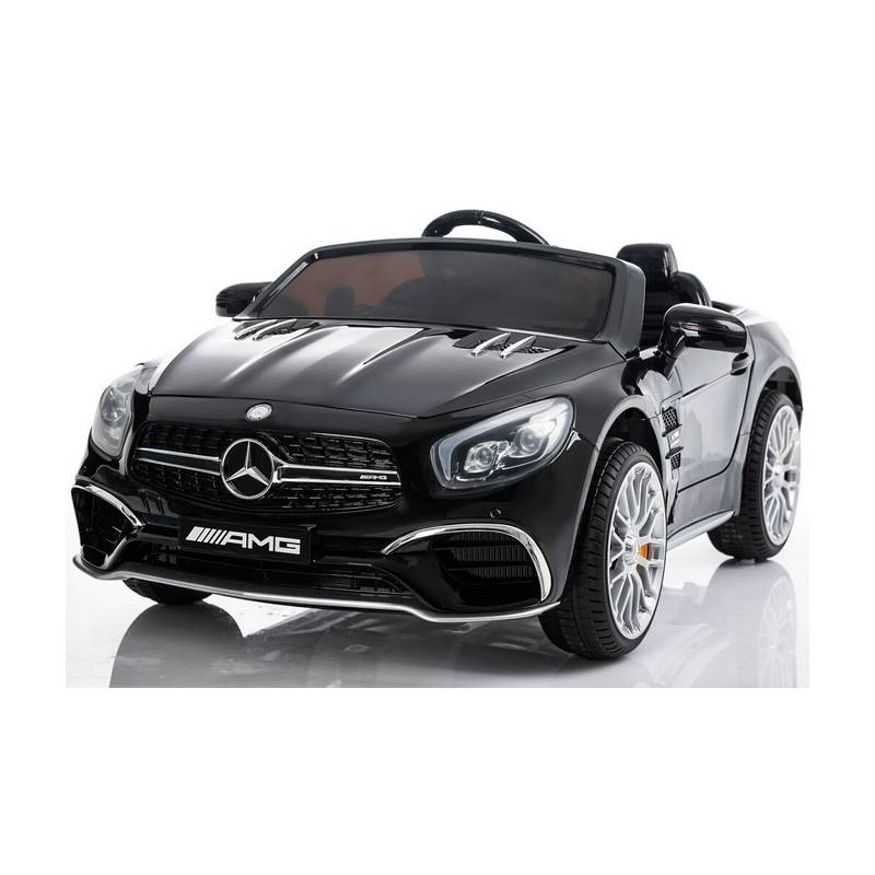 voiture lectrique pour enfant mercedes sl65 m tallis e noire. Black Bedroom Furniture Sets. Home Design Ideas