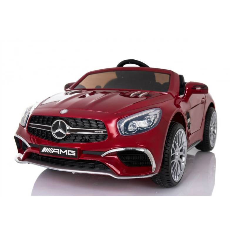 voiture lectrique pour enfant mercedes sl65 rouge m tallis e. Black Bedroom Furniture Sets. Home Design Ideas