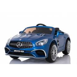 Voiture électrique pour enfant Mercedes SL65 bleue métallisée