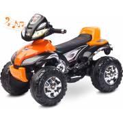 quad électrique pour enfant Cuatro orange