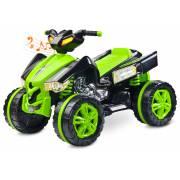 quad électrique pour enfant Raptor vert