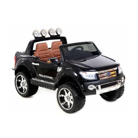 voiture lectrique ford ranger wildtrike deux places en cuir noire. Black Bedroom Furniture Sets. Home Design Ideas
