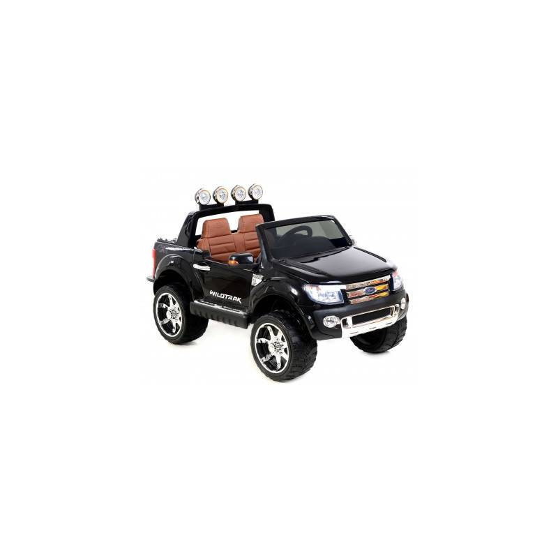 voiture lectrique ford ranger wildtrike deux places en cuir noire. Black Bedroom Furniture Sets. Home Design Ideas