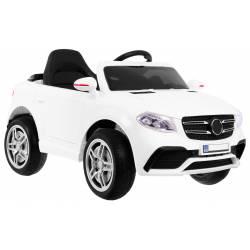 Voiture électrique PassionS HL 1558 blanche - voiture électrique pour enfant
