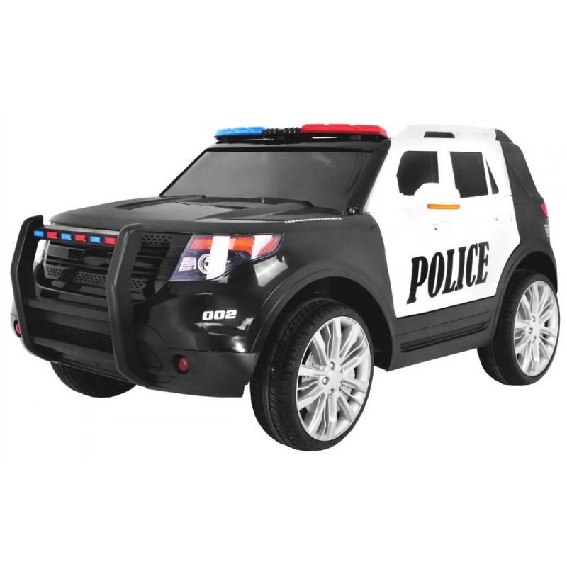 voiture lectrique style police voiture lectrique pour enfant. Black Bedroom Furniture Sets. Home Design Ideas