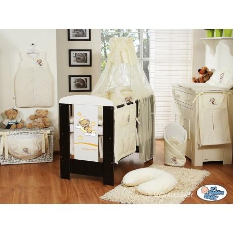 Parure de lit bébé bonne nuit crème