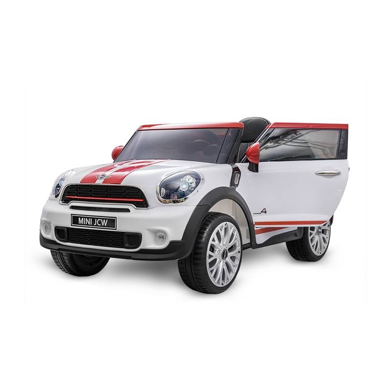 voiture lectrique pour enfant mini cooper paceman12 v blanc. Black Bedroom Furniture Sets. Home Design Ideas