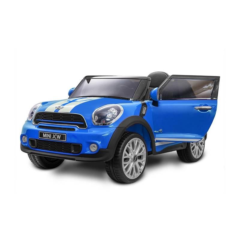 voiture lectrique pour enfant mini cooper paceman12 v bleu. Black Bedroom Furniture Sets. Home Design Ideas