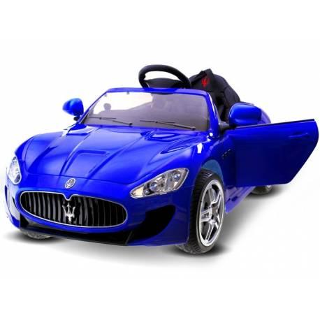 Voiture électrique pour enfant Maserati bleue