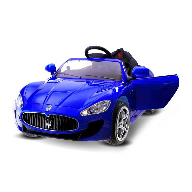 voiture lectrique pour enfant maserati bleue. Black Bedroom Furniture Sets. Home Design Ideas