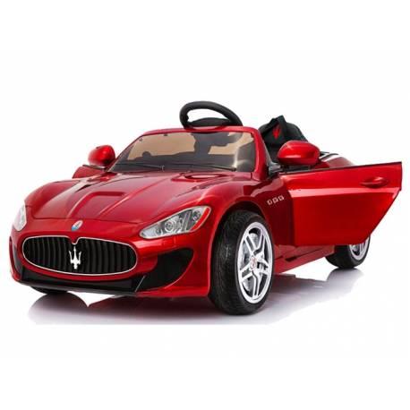 Voiture électrique pour enfant Maserati rouge