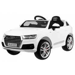 Voiture électrique pour enfant Audi Q7 peinture bleue
