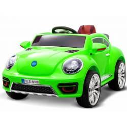 voiture électrique New Beetle 12 V jaune