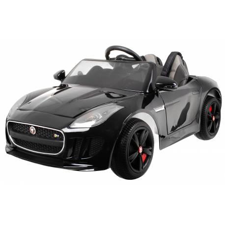 voiture électrique pour enfant Jaguar F Type noir