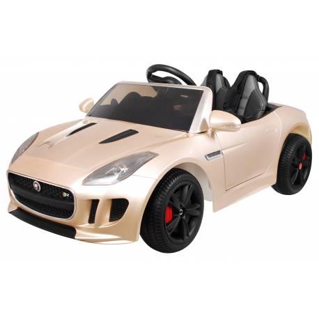 voiture électrique pour enfant Jaguar F Type champagne