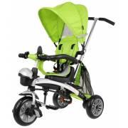 """Tricycle pour enfant évolutif """"explorer"""" vert avec capote"""