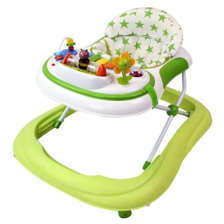 Trotteur pour bébé Etoile vert