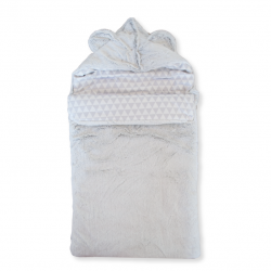 Couverture snow doublée imprimée my Little Bear