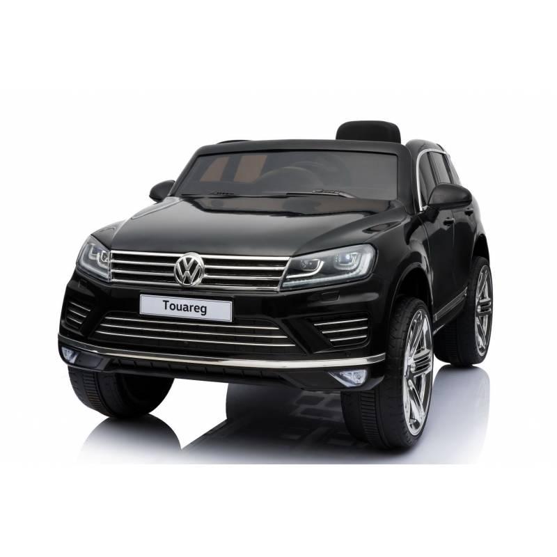 voiture lectrique touareg volkswagen noire voiture 12v. Black Bedroom Furniture Sets. Home Design Ideas