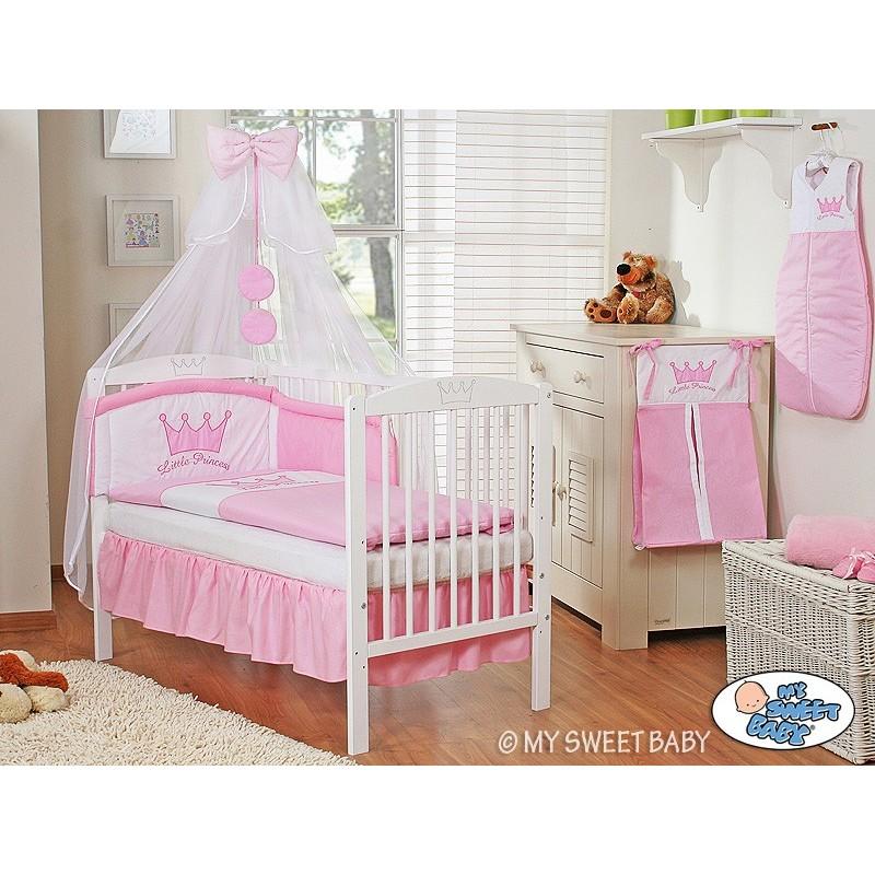 lit pour b b parure princesse rose lit pour enfant avec matelas. Black Bedroom Furniture Sets. Home Design Ideas