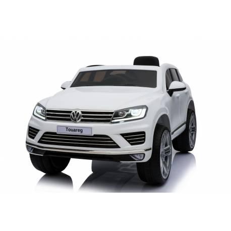 voiture électrique Touareg Volkswagen blanche
