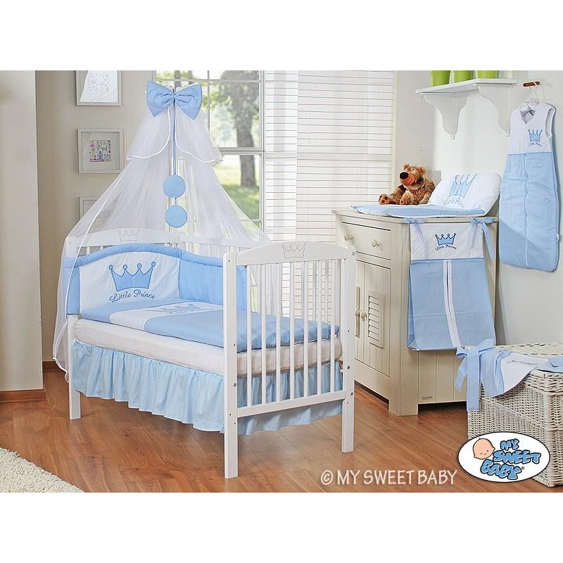 lit pour b b parure prince bleu lit pour enfant avec matelas. Black Bedroom Furniture Sets. Home Design Ideas