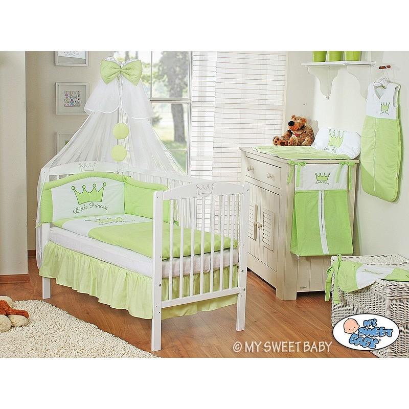 lit pour enfant parure prince vert lit pour b b avec matelas. Black Bedroom Furniture Sets. Home Design Ideas