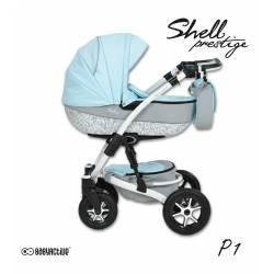 poussette trio shell prestige - 10 coloris