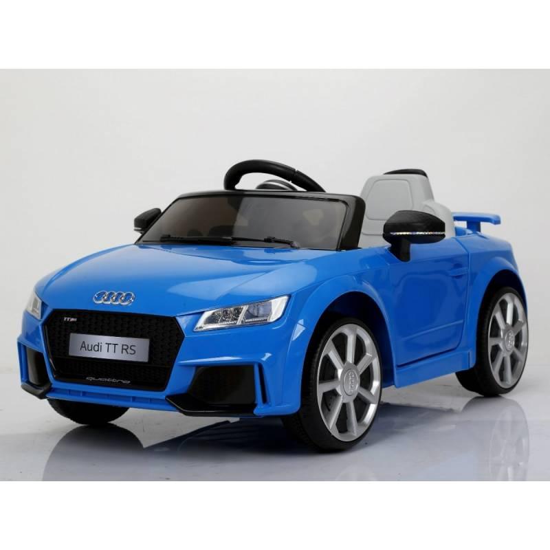 Voiture électrique pour enfant Audi TT RS bleu. Loading zoom fd897c5c0837