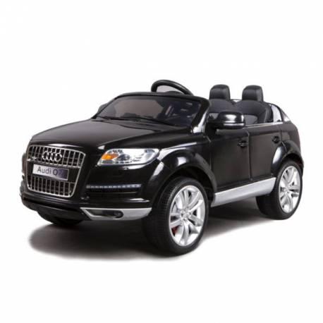 Voiture électrique pour enfant Audi Q7 deux places noire