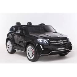 Voiture électrique pour enfant Mercedes Benz GLS 63 deux places métallisée noire