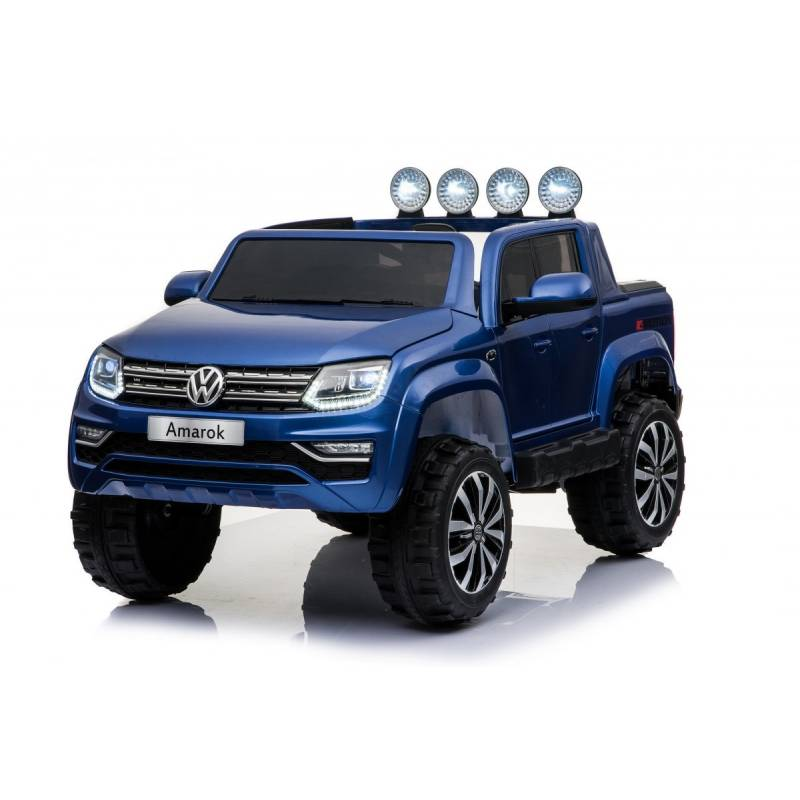 voiture lectrique amarok volkswagen bleue voiture 12v pour enfant. Black Bedroom Furniture Sets. Home Design Ideas