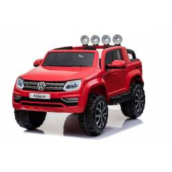 voiture électrique Amarok Volkswagen rouge