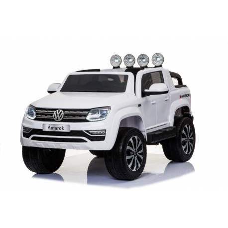 voiture électrique Amarok Volkswagen blanche