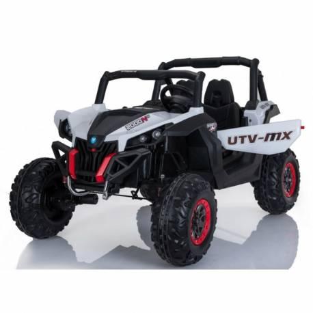 4X4 Buggy UTV-MX 24 V blanc deux places