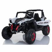 4X4 Buggy UTV-MX 24 V blanc deux places