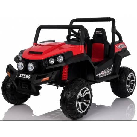 4X4 Buggy 24 V rouge deux places